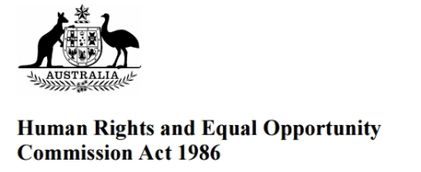 Australian Human Rights Commission Act 1986