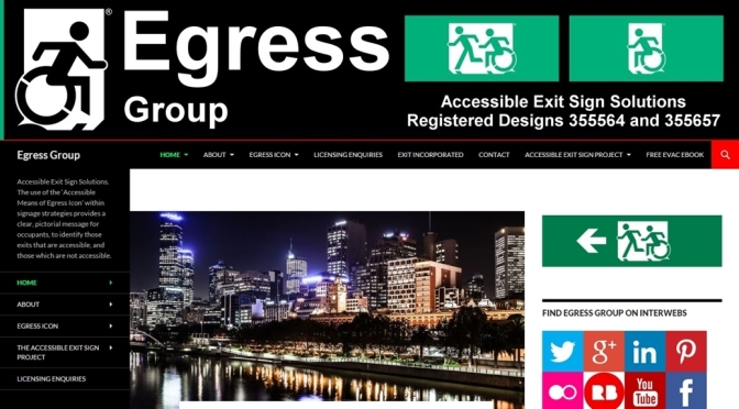 Egress Group website screen image