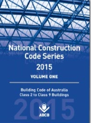 National Construction Code Building Code of Australia Volume 1 cover