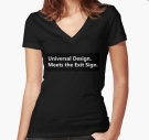 Universal Design Meets the Exit Sign 105 Fundraising Merchandise