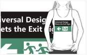 Universal Design Meets the Exit Sign 122 Fundraising Merchandise