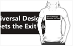 Universal Design Meets the Exit Sign 124 Fundraising Merchandise