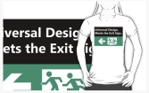 Universal Design Meets the Exit Sign 125 Fundraising Merchandise