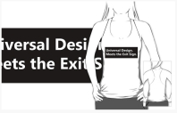 Universal Design Meets the Exit Sign 131 Fundraising Merchandise