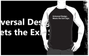 Universal Design Meets the Exit Sign 133 Fundraising Merchandise