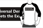 Universal Design Meets the Exit Sign 134 Fundraising Merchandise
