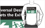 Universal Design Meets the Exit Sign 136 Fundraising Merchandise
