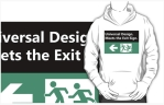 Universal Design Meets the Exit Sign 143 Fundraising Merchandise