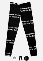 Universal Design Meets the Exit Sign 146 Fundraising Merchandise
