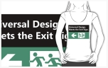 Universal Design Meets the Exit Sign 148 Fundraising Merchandise