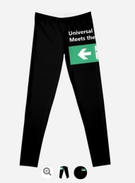 Universal Design Meets the Exit Sign 149 Fundraising Merchandise