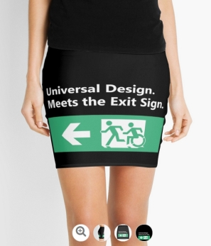 Universal Design Meets the Exit Sign 153 Fundraising Merchandise