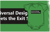 Universal Design Meets the Exit Sign 160 Fundraising Merchandise