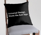 Universal Design Meets the Exit Sign 190 Fundraising Merchandise