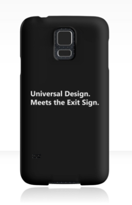 Universal Design Meets the Exit Sign 23 Fundraising Merchandise