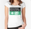 Universal Design Meets the Exit Sign 24 Fundraising Merchandise