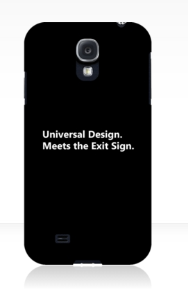 Universal Design Meets the Exit Sign 25 Fundraising Merchandise