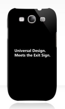 Universal Design Meets the Exit Sign 26 Fundraising Merchandise