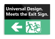 Universal Design Meets the Exit Sign 32 Fundraising Merchandise