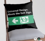 Universal Design Meets the Exit Sign 33 Fundraising Merchandise