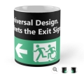 Universal Design Meets the Exit Sign 34 Fundraising Merchandise