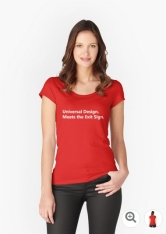 Universal Design Meets the Exit Sign 35 Fundraising Merchandise