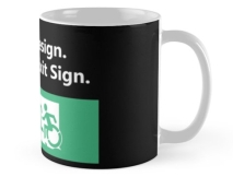 Universal Design Meets the Exit Sign 36 Fundraising Merchandise