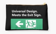 Universal Design Meets the Exit Sign 40 Fundraising Merchandise