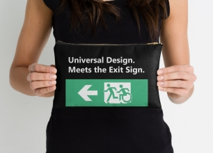 Universal Design Meets the Exit Sign 42 Fundraising Merchandise