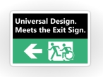 Universal Design Meets the Exit Sign 48 Fundraising Merchandise