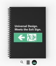 Universal Design Meets the Exit Sign 51 Fundraising Merchandise