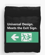 Universal Design Meets the Exit Sign 53 Fundraising Merchandise
