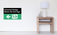 Universal Design Meets the Exit Sign 58 Fundraising Merchandise