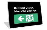 Universal Design Meets the Exit Sign 59 Fundraising Merchandise