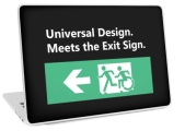 Universal Design Meets the Exit Sign 62 Fundraising Merchandise