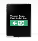 Universal Design Meets the Exit Sign 66 Fundraising Merchandise