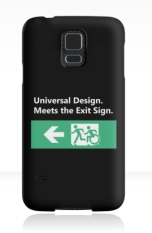 Universal Design Meets the Exit Sign 69 Fundraising Merchandise