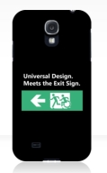 Universal Design Meets the Exit Sign 70 Fundraising Merchandise