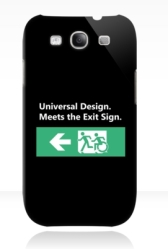 Universal Design Meets the Exit Sign 71 Fundraising Merchandise