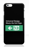 Universal Design Meets the Exit Sign 73 Fundraising Merchandise