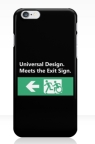 Universal Design Meets the Exit Sign 74 Fundraising Merchandise