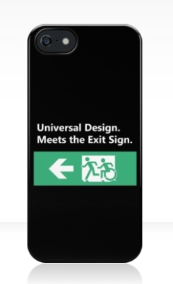 Universal Design Meets the Exit Sign 75 Fundraising Merchandise