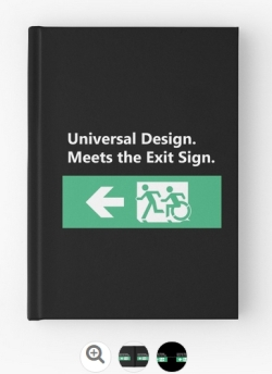 Universal Design Meets the Exit Sign 77 Fundraising Merchandise