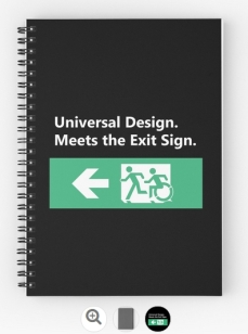 Universal Design Meets the Exit Sign 78 Fundraising Merchandise