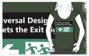 Universal Design Meets the Exit Sign 81 Fundraising Merchandise