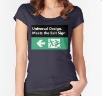 Universal Design Meets the Exit Sign 85 Fundraising Merchandise