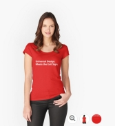 Universal Design Meets the Exit Sign 88 Fundraising Merchandise