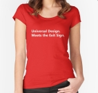 Universal Design Meets the Exit Sign 89 Fundraising Merchandise