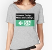 Universal Design Meets the Exit Sign 94 Fundraising Merchandise