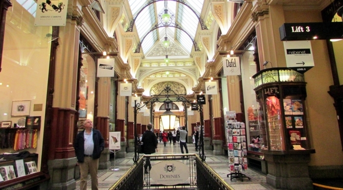 Melbourne Block Arcade Shopping Mall